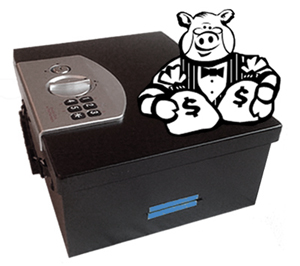 Time lock Piggy Bank